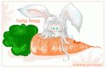 Sephiroth chibi bunny XD