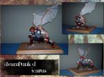 Steampunk'd Icarus sculpt by Jilly