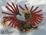 Bead Dragon 4  Dragon of Fall by hermitworm