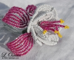 French Beaded Fuschia