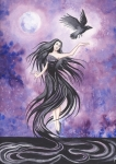 The Flight of the Raven by Eleanora