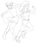 Kito and Zap fly