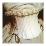 Ivory Love -  Leather and Lace