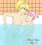 Szayel X Ilforte: Bath Time