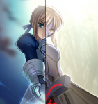 Two Faces-Fate Stay Night Vers