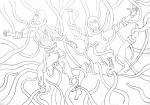 Tentacles (line art)