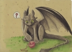 Toothless Playing