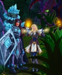 LoL Taric and Lux (and cho!)