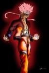 Naruto using rasengan