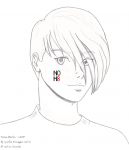 Trowa Barton - NOH8 by cynfinnegan