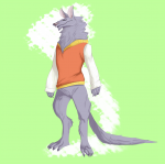 fuzzy thing in a vest