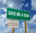 Give me a Sign, cover art