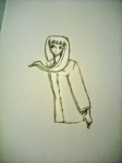 Girl in Raincoat