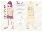 YGO5D OC: Yonah [REF sheet]
