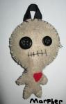 Voodoo Doll Keychain Plush