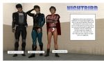 Nightbird Model Sheet