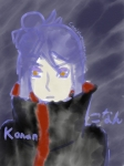 Akatsuki Sketch Set: Konan by Canislupusarctos100