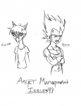 Anger issues by SaiyanQueen