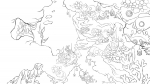 City of Lost Songs Lineart