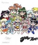 Sailor Team by PookyWooky