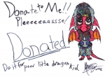 Donated to Little Dragon-morph