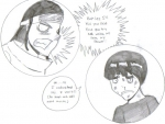 Neiji and Rock lee