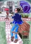 Rainy Date (complete) by majinbulgeta