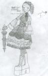 Ass-Kicking Gothic Lolita by 1219