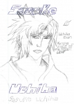 doodle of sasuke