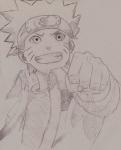 Naruto Punch Sketch