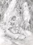 The Bard by KazeToMizu