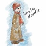 Winter doodle