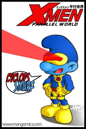 Cyclops Smurf