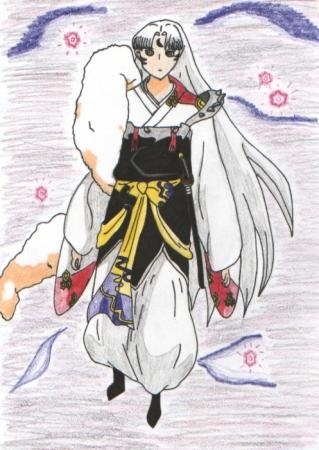 Bam! My first Sesshomaru drawn