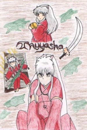 Inuyasha collage drawing