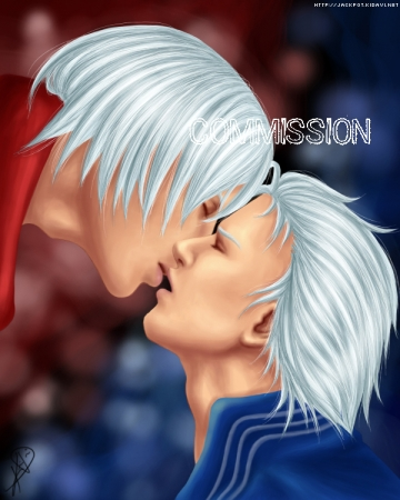 Kiss - DxV *yaoi