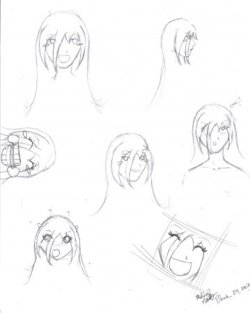 Kumiko- Character Design