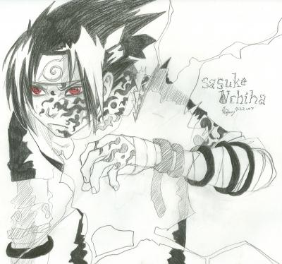Sasuke Uchiha and the curse