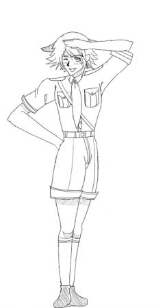 Schrodinger Salute: sketch