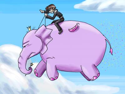 The fairy elephant!