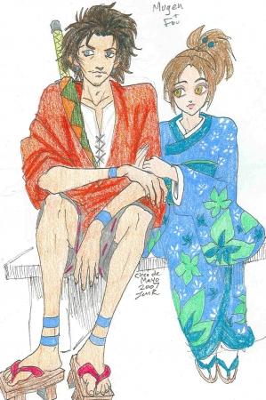Mugen and Fuu