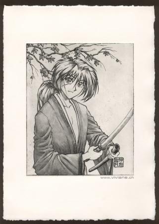 Rurouni Kenshin Gravure