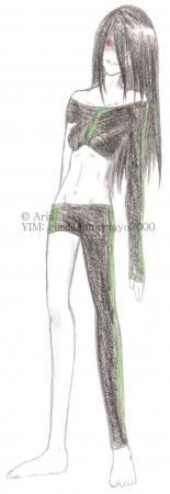Crazed Ishtar model Green