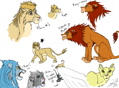Organization XIII Lions