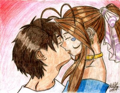 Ah! Finally a Kiss?