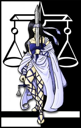 Justice - Tarot Story