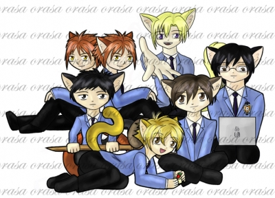 Ouran Chibi-kitties