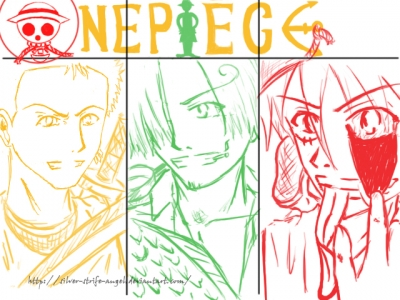 One Piece Trio