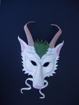"""""""Haku"""" mask"""