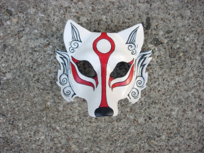 """Amaterasu"" mask"
